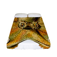 Gold Octopus Fitted Sheet (full/ Double Size)