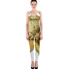 Gold Octopus One Piece Catsuit
