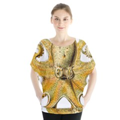 Gold Octopus Blouse