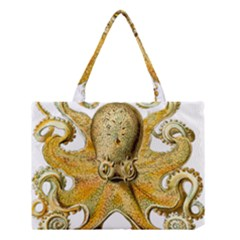 Gold Octopus Medium Tote Bag