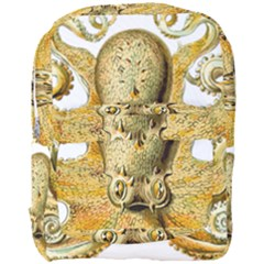 Gold Octopus Full Print Backpack