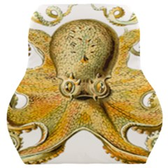 Gold Octopus Car Seat Back Cushion