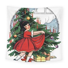 Christmas 1912802 1920 Square Tapestry (large) by vintage2030