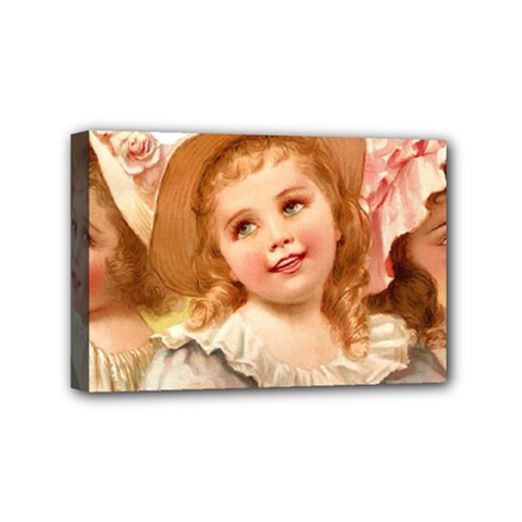 Girls 1827219 1920 Mini Canvas 6  X 4  (stretched) by vintage2030