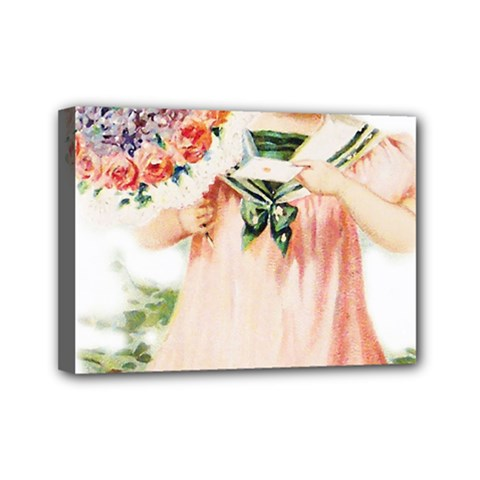 Girl 1731727 1920 Mini Canvas 7  X 5  (stretched) by vintage2030