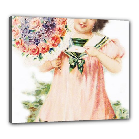 Girl 1731727 1920 Canvas 24  X 20  (stretched) by vintage2030