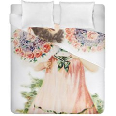 Girl 1731727 1920 Duvet Cover Double Side (california King Size) by vintage2030