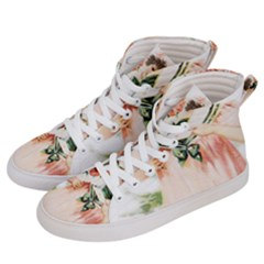 Girl 1731727 1920 Women s Hi Top Skate Sneakers by vintage2030