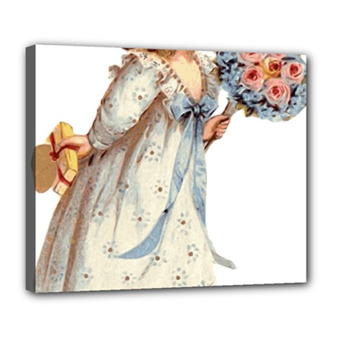 Child 1718357 1920 Deluxe Canvas 24  X 20  (stretched) by vintage2030