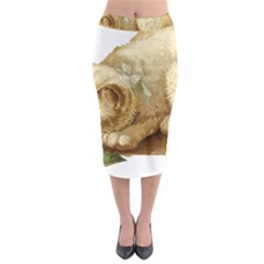 Cat 1827211 1920 Midi Pencil Skirt by vintage2030