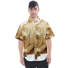 Cat 1827211 1920 Men s Short Sleeve Shirt by vintage2030