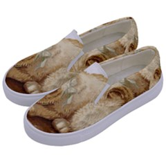 Cat 1827211 1920 Kids  Canvas Slip Ons by vintage2030