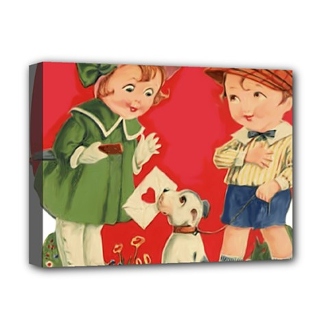 Children 1731738 1920 Deluxe Canvas 16  X 12  (stretched)