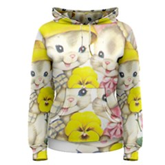 Rabbits 1731749 1920 Women s Pullover Hoodie