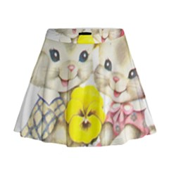 Rabbits 1731749 1920 Mini Flare Skirt