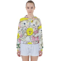 Rabbits 1731749 1920 Women s Tie Up Sweat