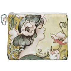 Lady 1650603 1920 Canvas Cosmetic Bag (xxl) by vintage2030