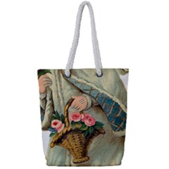 Angel 1718333 1920 Full Print Rope Handle Tote (small)