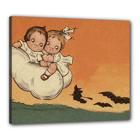 Halloween 1461955 1920 Canvas 24  X 20  (stretched)