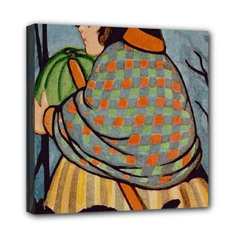 Witch 1462701 1920 Mini Canvas 8  X 8  (stretched) by vintage2030