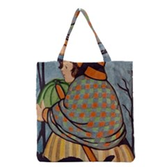 Witch 1462701 1920 Grocery Tote Bag by vintage2030