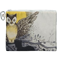 Owl 1462736 1920 Canvas Cosmetic Bag (xxxl) by vintage2030