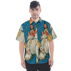 Witch 1461949 1920 Men s Short Sleeve Shirt by vintage2030