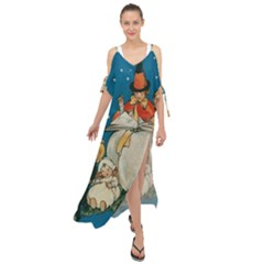 Witch 1461949 1920 Maxi Chiffon Cover Up Dress