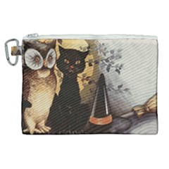 Owls 1461952 1920 Canvas Cosmetic Bag (xl) by vintage2030