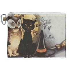 Owls 1461952 1920 Canvas Cosmetic Bag (xxl) by vintage2030