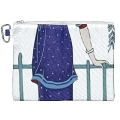 Lady 1318887 1920 Canvas Cosmetic Bag (xxl) by vintage2030