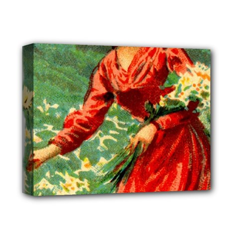 Lady 1334282 1920 Deluxe Canvas 14  X 11  (stretched) by vintage2030