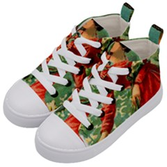Lady 1334282 1920 Kid s Mid Top Canvas Sneakers by vintage2030