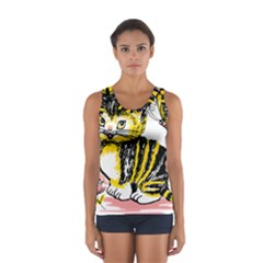 Cat 1348502 1920 Sport Tank Top  by vintage2030