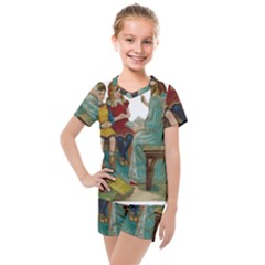Angel 1347118 1920 Kids  Mesh Tee And Shorts Set