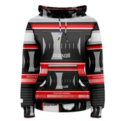Compact Cassette Women s Pullover Hoodie