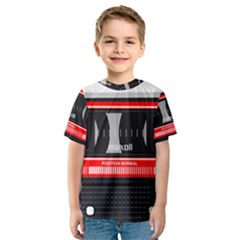 Compact Cassette Kids  Sport Mesh Tee by vintage2030