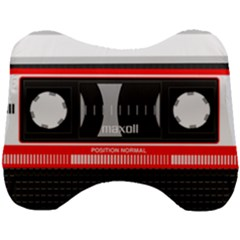 Compact Cassette Head Support Cushion by vintage2030