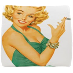 Woman 792872 1920 Seat Cushion by vintage2030