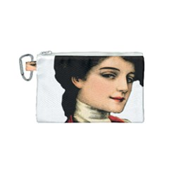 Lady 1032898 1920 Canvas Cosmetic Bag (small) by vintage2030
