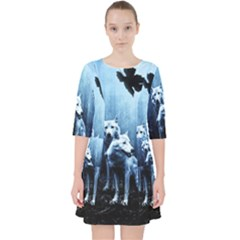 Wolfs Pocket Dress