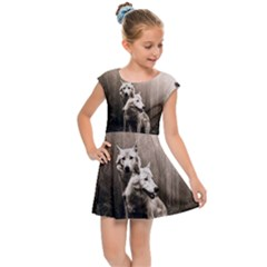Wolfs Kids Cap Sleeve Dress