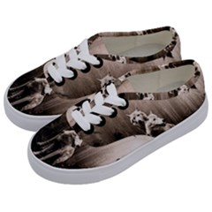 Wolfs Kids  Classic Low Top Sneakers by Valentinaart