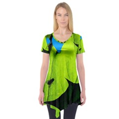 Window Of Opportunity Short Sleeve Tunic