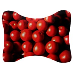 Pile Of Red Tomatoes Velour Seat Head Rest Cushion