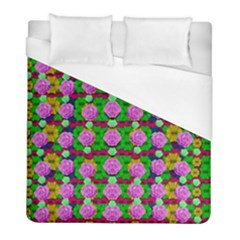 Roses And Other Flowers Love Harmony Duvet Cover (full/ Double Size) by pepitasart
