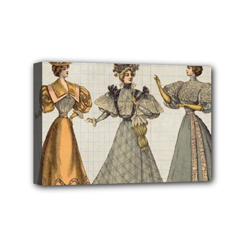 Vintage 1480642 1920 Mini Canvas 6  X 4  (stretched)