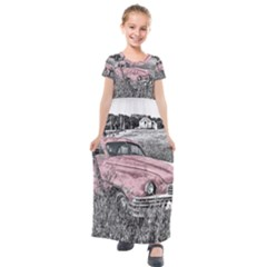 Oldtimer 166530 1920 Kids  Short Sleeve Maxi Dress