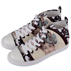 Frame 1775331 1280 Women s Mid Top Canvas Sneakers by vintage2030