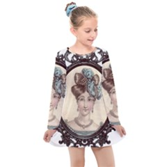 Frame 1775331 1280 Kids  Long Sleeve Dress